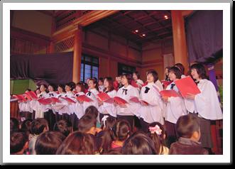 クリスマス礼拝及び祝会