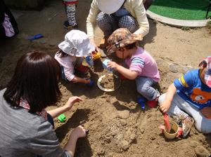 砂場で遊ぼう007