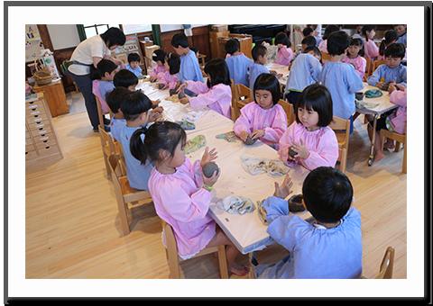 年長陶芸教室
