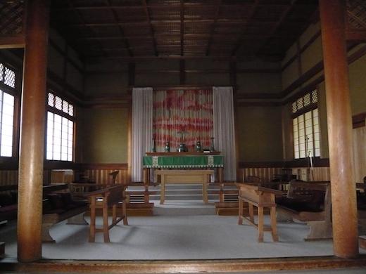 礼拝堂(祭壇)